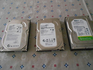 Desktop hard drives 3.5