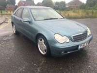 MERCEDES C220 CDI 53 PLATE AMG ALLOYS AUTOMATIC