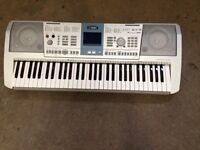 Yamaha PSR-K1 Keyboard and Wooden Case