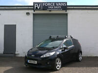 FORD FIESTA 1.6TDCI SPORT CAR DERIVED PANEL WORK TOOL DELIVERY RUN AROUND VAN