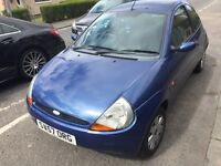 FORD KA STYLE 57 PLATE MOTED £350