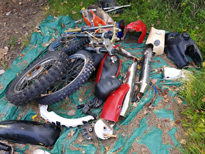 Motorcycle and tri motor parts