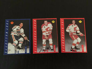 HOCKEY CARDS-OILERS-FLAMES-1991 and 1992--IGA