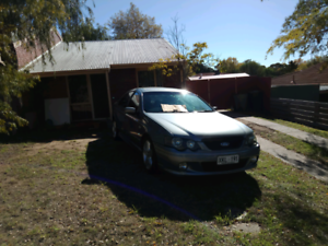 Falcon xr6 lightning silver