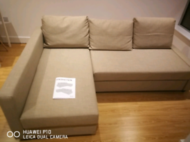 Ikea friheten corner sofa bed with storage delivery available