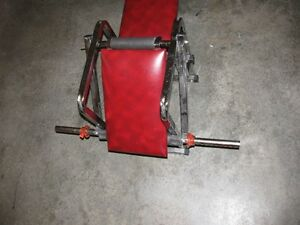 Weight Bench, Bar and 50 lbs London Ontario image 2