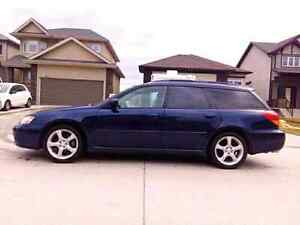 SAFETIED 2006 SUBARU LEGACY WAGON Auto trans, AWD, heated seats