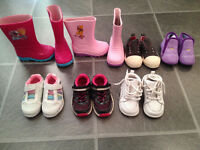 spring/fall boots/shoes for girl size 5-7 fits between 18m - 2/3