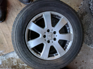 Winter tires and on Mercedes Rims 235/65/17