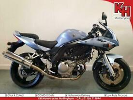Suzuki SV650S Blue 2006 - Lovely Condition, Stainless Delkevic Exhaust