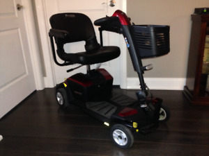 Pride Mobility Go-Go LX with CTS Suspension 4-Wheel