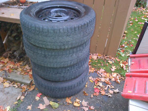 Winter Tires off of Mazda Tribute 235 65 R17