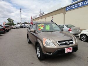 2002 Honda CR-V EX w/Leather SUV, Crossover E-TESTED & CERT