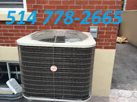 AIR CONDITIONERS OR HEAT PUMPS. CENTRAL AND WALL UNITS AVAILABLE