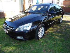 black 2006 Honda Accord Sedan Luxury V6 11 Months Rego Auburn Auburn Area Preview