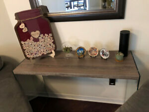Living Room Coffee & Side Tables from The Brick ** NEW COND'N **