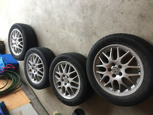 "16"" VW 2 piece BBS rims"