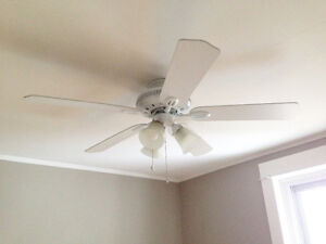 Ceiling fans (Two identical)