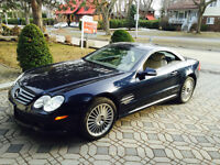 2003 Mercedes-Benz SL-500AMG Convertible
