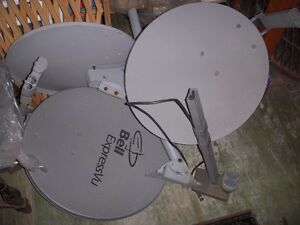SATELLITE DISHES FOR SALE - $5.00 EACH Windsor Region Ontario image 1