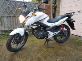 Honda cb125f, glr125