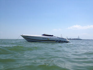 2001 Donzi ZX 28 BOAT ONLY 300 Hours