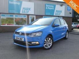 2014 Volkswagen Polo 1.4TDI ( 75ps ) BLUEMOTION ZERO TAX MAIN DEALER HISTORY