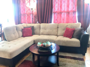 Beautiful Sectional 2-piece Sofa for quick sale!
