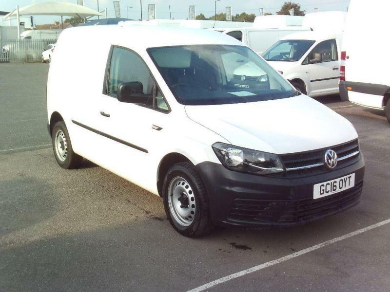 Volkswagen Caddy C20 Tdi Bluemotion Tech 102Ps Startline Van DIESEL WHITE (2016)