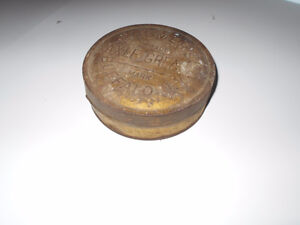 Canne de graisse Buffalo antique