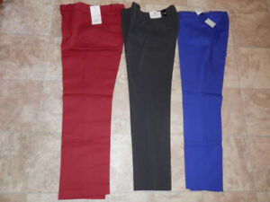 Brand new pants by Cleo, Calvin Kline and Will Smith (size 2-4)