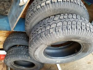 Winter Tires - Motomaster Total Terrain W/T - P245/75/R16