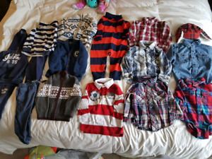 Great Condition, brand name Boys 18 month - 2T clothing lot