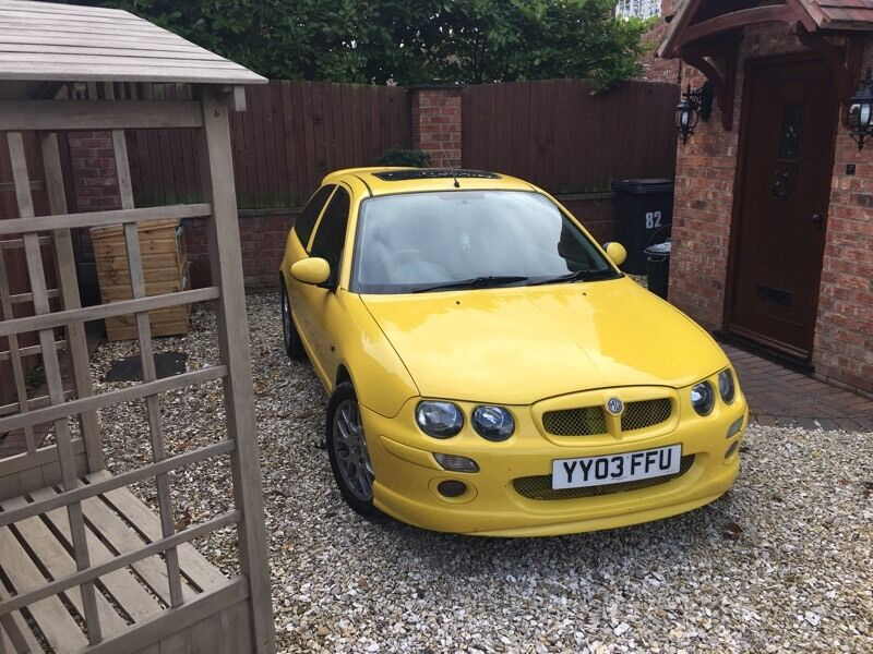 MG ZR very tidy and cheap too