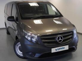 2016 Mercedes-Benz Vito 114 BlueTec Pro 9-Seater LONG Diesel grey Automatic