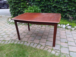 Mid Century Teak Dining Table