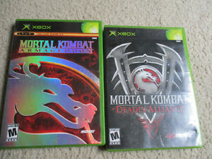 XBOX Mortal Kombat games