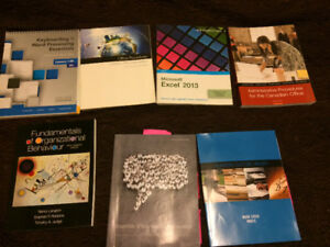 Office Admin/ business textbooks