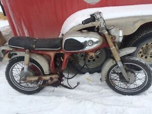 Parting out 1970s Honda CD175