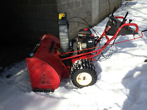 "45"" Briggs & Stratton snowblower"