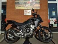 HONDA CB500X 2019, FITTED WITH HEATED GRIPS AND HANDGUARDS, 16500 MILES