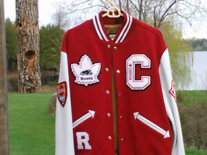 Vintage roots jacket from Canada Finland series