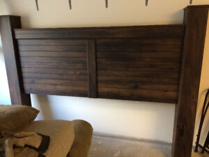 King Bed Frame and Night Stand