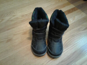 Toddler Boy Winter Boots Size 10