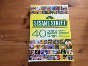 Sesame Street DVDs 40 Years of Sunny Days