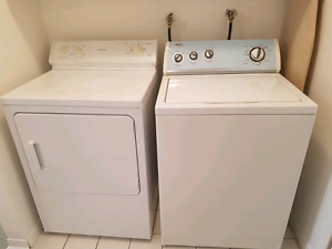 150$ Negotiable Washer Dryer