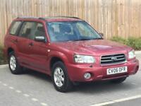2006 '06' Subaru Forester 2.0 S, 5 Door Estate, 4WD, MPV, Petrol.