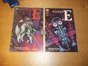 Mister E-dc comics complete 1 to 4
