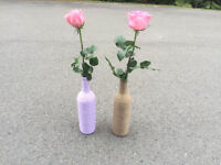 WINE BOTTLES FOR WEDDING OR EVENT