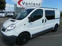 Vauxhall Vivaro 2.0CDTi (115ps) (EU IV)2700 SWB With Rear Seat Conversion